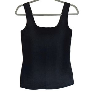 4for$20 Tank top S cotton square neck ribbing